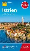 Cover-Bild zu Wengert, Veronika: ADAC Reiseführer Istrien und Kvarner-Bucht (eBook)