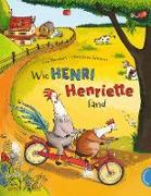 Cover-Bild zu Neudert, Cee: Henri und Henriette: Wie Henri Henriette fand (eBook)