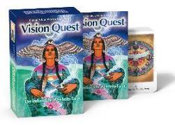 Cover-Bild zu Vision Quest - der indianische Weisheitstarot von Winter, Gayan Silvie