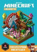 Cover-Bild zu Milton, Stephanie: Minecraft, Los geht's! Freizeitpark-Abenteuer