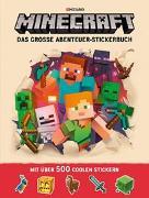 Cover-Bild zu Minecraft: Minecraft, Das große Abenteuer-Stickerbuch