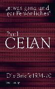 Cover-Bild zu Celan, Paul: »etwas ganz und gar Persönliches« (eBook)
