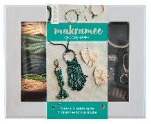 "Cover-Bild zu Kirsch, Josephine: Makramee-Schmuckset ""Choose Happy"" (Petrol/Natur)"