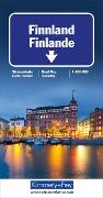Cover-Bild zu Hallwag Kümmerly+Frey AG (Hrsg.): Finnland Strassenkarte. 1:650'000