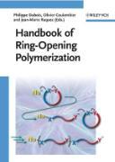 Cover-Bild zu Handbook of Ring-Opening Polymerization von Dubois, Philippe