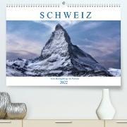 Cover-Bild zu Kruse, Joana: Schweiz - Vom Hochgebirge zu Palmen (Premium, hochwertiger DIN A2 Wandkalender 2022, Kunstdruck in Hochglanz)