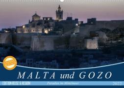 Cover-Bild zu Kruse, Joana: Malta und Gozo Paradies im Mittelmeer (Wandkalender 2022 DIN A2 quer)