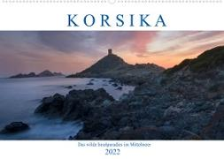 Cover-Bild zu Kruse, Joana: Korsika, das wilde Inselparadies im Mittelmeer (Wandkalender 2022 DIN A2 quer)