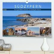 Cover-Bild zu Kruse, Joana: Südzypern, sonnige Mittelmeerinsel mit bewegter Historie (Premium, hochwertiger DIN A2 Wandkalender 2022, Kunstdruck in Hochglanz)