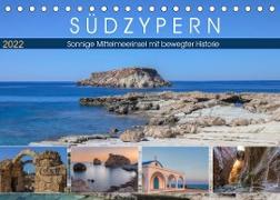 Cover-Bild zu Kruse, Joana: Südzypern, sonnige Mittelmeerinsel mit bewegter Historie (Tischkalender 2022 DIN A5 quer)