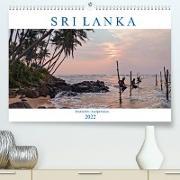 Cover-Bild zu Kruse, Joana: Sri Lanka, tropisches Inselparadies (Premium, hochwertiger DIN A2 Wandkalender 2022, Kunstdruck in Hochglanz)