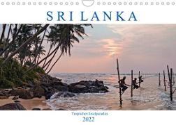 Cover-Bild zu Kruse, Joana: Sri Lanka, tropisches Inselparadies (Wandkalender 2022 DIN A4 quer)