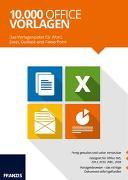 Cover-Bild zu Franzis (Hrsg.): 10.000 Vorlagen für Office (Win)