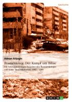 Cover-Bild zu Alijagic, Adnan: Bosnienkrieg: Der Kampf um Bihac