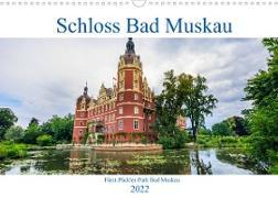 Cover-Bild zu Photography, Iam: Schloss Bad Muskau (Wandkalender 2022 DIN A3 quer)
