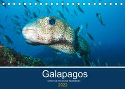 Cover-Bild zu Photography, Iam: Unterwasserwelt Galapagos (Tischkalender 2022 DIN A5 quer)