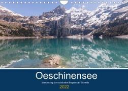 Cover-Bild zu Photography, Iam: Wanderung zum Oeschinensee (Wandkalender 2022 DIN A4 quer)