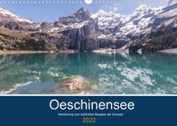 Cover-Bild zu Photography, Iam: Wanderung zum Oeschinensee (Wandkalender 2022 DIN A3 quer)