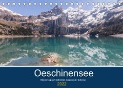 Cover-Bild zu Photography, Iam: Wanderung zum Oeschinensee (Tischkalender 2022 DIN A5 quer)