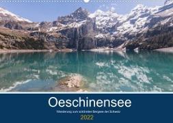 Cover-Bild zu Photography, Iam: Wanderung zum Oeschinensee (Wandkalender 2022 DIN A2 quer)