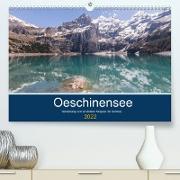 Cover-Bild zu Photography, Iam: Wanderung zum Oeschinensee (Premium, hochwertiger DIN A2 Wandkalender 2022, Kunstdruck in Hochglanz)