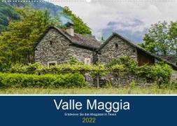 Cover-Bild zu Photography, Iam: Valle Maggia - Entdecken Sie das Maggiatal im Tessin (Wandkalender 2022 DIN A2 quer)