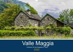 Cover-Bild zu Photography, Iam: Valle Maggia - Entdecken Sie das Maggiatal im Tessin (Wandkalender 2022 DIN A3 quer)