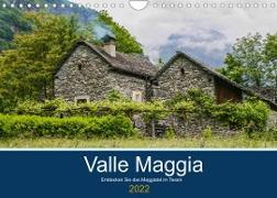 Cover-Bild zu Photography, Iam: Valle Maggia - Entdecken Sie das Maggiatal im Tessin (Wandkalender 2022 DIN A4 quer)