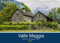 Cover-Bild zu Photography, Iam: Valle Maggia - Entdecken Sie das Maggiatal im Tessin (Tischkalender 2022 DIN A5 quer)