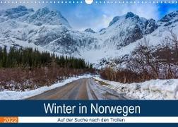 Cover-Bild zu Photography, Iam: Winter in Norwegen (Wandkalender 2022 DIN A3 quer)