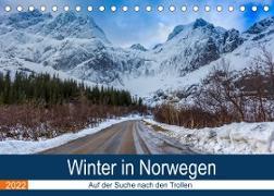Cover-Bild zu Photography, Iam: Winter in Norwegen (Tischkalender 2022 DIN A5 quer)