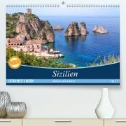Cover-Bild zu Kruse, Joana: Sizilien - Italien mal anders (Premium, hochwertiger DIN A2 Wandkalender 2022, Kunstdruck in Hochglanz)