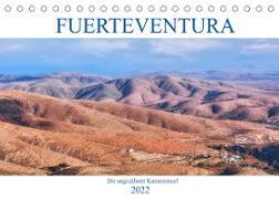 Cover-Bild zu Kruse, Joana: Fuerteventura, die ungezähmte Kanareninsel (Tischkalender 2022 DIN A5 quer)