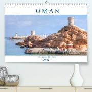 Cover-Bild zu Kruse, Joana: Oman - Ein Land aus 1001 Nacht (Premium, hochwertiger DIN A2 Wandkalender 2022, Kunstdruck in Hochglanz)