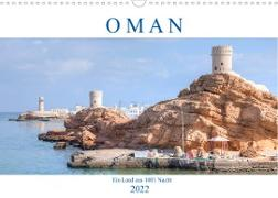 Cover-Bild zu Kruse, Joana: Oman - Ein Land aus 1001 Nacht (Wandkalender 2022 DIN A3 quer)