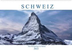 Cover-Bild zu Kruse, Joana: Schweiz - Vom Hochgebirge zu Palmen (Wandkalender 2022 DIN A2 quer)