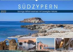 Cover-Bild zu Kruse, Joana: Südzypern, sonnige Mittelmeerinsel mit bewegter Historie (Wandkalender 2022 DIN A2 quer)