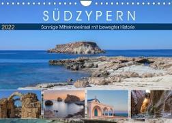 Cover-Bild zu Kruse, Joana: Südzypern, sonnige Mittelmeerinsel mit bewegter Historie (Wandkalender 2022 DIN A4 quer)