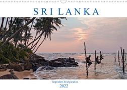 Cover-Bild zu Kruse, Joana: Sri Lanka, tropisches Inselparadies (Wandkalender 2022 DIN A3 quer)