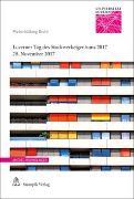 Cover-Bild zu Schmid Meyer, Diel Tatjana: Luzerner Tag des Stockwerkeigentums 2017