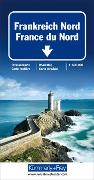 Cover-Bild zu Hallwag Kümmerly+Frey AG (Hrsg.): Frankreich Nord Strassenkarte 1:600 000. 1:600'000
