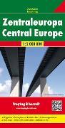 Cover-Bild zu Freytag-Berndt und Artaria KG (Hrsg.): Zentraleuropa, Autokarte 1:2 Mio. 1:2'000'000