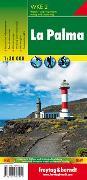 Cover-Bild zu Freytag-Berndt und Artaria KG (Hrsg.): La Palma, Wanderkarte 1:30.000, WKE 2. 1:30'000