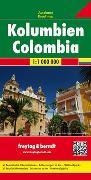 Cover-Bild zu Freytag-Berndt und Artaria KG (Hrsg.): Kolumbien, Autokarte 1:1 Mio. 1:1'000'000