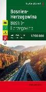Cover-Bild zu Freytag-Berndt und Artaria KG (Hrsg.): Bosnien-Herzegowina, Autokarte 1:200.000, Top 10 Tips. 1:200'000