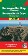 Cover-Bild zu Freytag-Berndt und Artaria KG (Hrsg.): Norwegen Nordkap - Hammerfest, Autokarte 1:400.000. 1:400'000