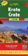 Cover-Bild zu Freytag-Berndt und Artaria KG (Hrsg.): Kreta, Autokarte 1:150.000, Top 10 Tips. 1:150'000