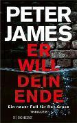 Cover-Bild zu James, Peter: Er will dein Ende