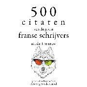 Cover-Bild zu Corneille, Pierre: 500 citaten van de grote Franse schrijvers uit de 17e eeuw (Audio Download)