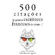 Cover-Bild zu Corneille, Pierre: 500 citações de grandes escritores franceses do século 17 (Audio Download)